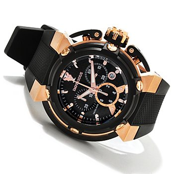 606-530 - Imperious Men's X-Wing Swiss Made Quartz Chronograph Carbon Fiber Strap Watch