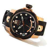 INVICTA RESERVE MEN'S VENOM SWISS POLY STRAP WATCH W/3-SLOT DIVE CASE