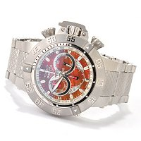 INVICTA MEN'S SUBAQUA NOMA III SWISS MADE CHRONO STAINLESS BRACELET