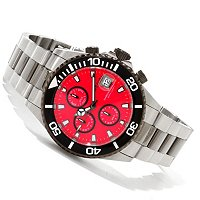 INVICTA MEN'S PRO DIVER QUARTZ CHRONOGRAPH STAINLESS STEEL BRACELET WATCH