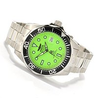 INVICTA MEN'S GRAND DIVER AUTOMATIC LUME STAINLESS BRACELET WATCH W/3-SLOT DC