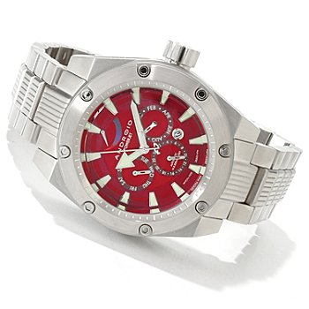 606-702 - Android Men's Powerjet 9100 Automatic Stainless Steel Bracelet Watch