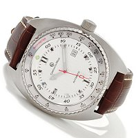 Constantin Weisz Gents Automatic Leather Strap Watch