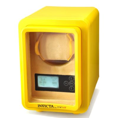 606-855 - Invicta Spin-R Programmable Watch Winder w/ Display Window