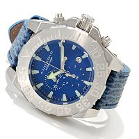 ANDROID MEN'S DIVEMASTER SILVERJET 500 QUARTZ CHRONOGRAPH STRAP WATCH