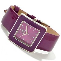 Arm Candy Women's Patent leather Strap watch