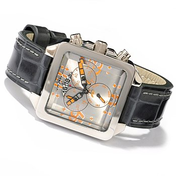 607-009 - Android Men's Galactopus 40 Quartz Chronograph Stainless Steel Strap Watch