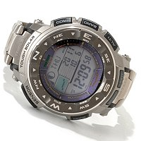 Casio Men's Pathfinder Ani-Digi Strap Watch