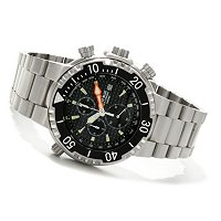 DEEP BLUE MEN'S SEA CHRONOGRAPH BRACELET WATCH