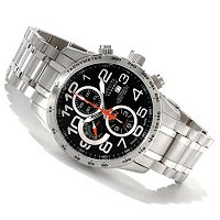 INVICTA RESERVE MILITARY SWISS AUTOMATIC CHRONO BRACELET WATCH W/ 3 SLOT DC
