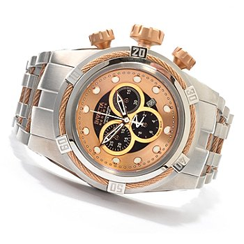 607-297 - Invicta Reserve Men's Bolt Zeus Swiss Made Quartz Chronograph Stainless Steel Bracelet Watch