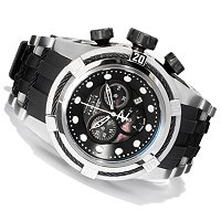 INVICTA RESERVE MEN'S BOLT ZEUS SWISS CHRONOGRAPH STRAP WATCH