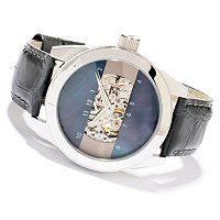 ANDROID MEN'S WOMEN'S CHOICE HORIZON SKELETON AUTOMATIC STRAP WATCH