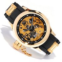 INVICTA MEN'S QUINOTAUR RUSSIAN DIVER MECHANICAL STRAP WATCH