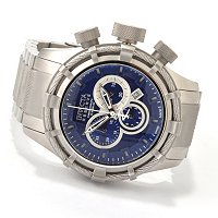INVICTA RESERVE MENS BOLT SPORT SWISS QUARTZ CHRONO BRACELET WATCH W/ 3 SLOT DC