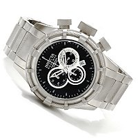 INVICTA RESERVE MEN'S BOLT SWISS CHRONO STAINLESS BRACELET W/ 3 SLOT DC