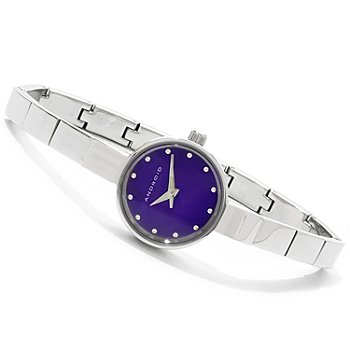 607-574 - Android Women's Mini Star Stainless Steel Bracelet Watch