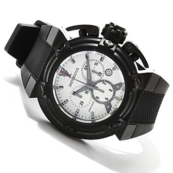 607-585 - Imperious Men's X-Wing Swiss Made Quartz Chronograph Strap Watch
