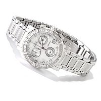 INVICTA WOMEN'S CLASSIQUE CHRONOGRAPH STAINLESS STEEL BRACELET WATCH
