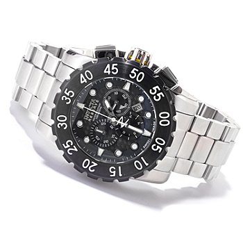 607-597 - Invicta Reserve Men's Leviathan Swiss Chronograph Stainless Steel Bracelet Watch