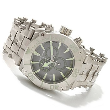 607-638 - Android Men's Millipede Quartz Chronograph Stainless Steel Bracelet Watch
