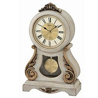 SEIKO MUSICAL ANTIQUE STYLE GRAND SWINGING PENDULUM WOODEN MANTEL CLOCK