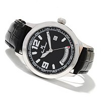 JEAN MARCEL MEN'S SEMPER LTD EDITION SWISS MADE AUTOMATIC STRAP WATCH