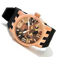 INVICTA MEN'S DNA CAMO QUARTZ STRAP WATCH