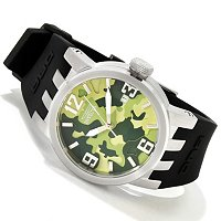 INVICTA WOMEN'S DNA CAMO QUARTZ STRAP WATCH