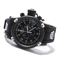 INVICTA MEN'S RUSSIAN DIVER ELEMENT QUARTZ CHRONOGRAPH STRAP WATCH