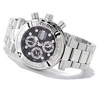 INVICTA RESERVE MEN'S SUBAQUA NOMA I VALJOUX 7750 STAINLESS BRACELET WATCH