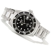 STSTL WTCH INVICTA PRO DIVER AUTOMATIC STAINLESS STEEL BRACELET WATCH