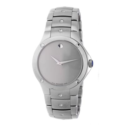 608-082 - Movado Men's S.E. Quartz Silver Dial Stainless Steel Bracelet Watch