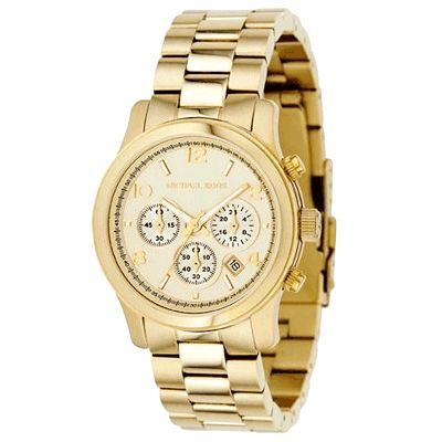 609-006 - Michael Kors Women's Quartz Chronograph Stainless Steel Bracelet Watch