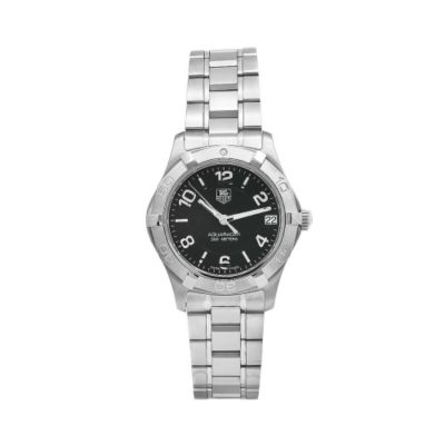 610-377 - Tag Heuer Aquaracer Women's Swiss Quartz Unidirectional Rotating Bezel Bracelet Watch