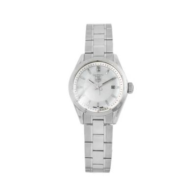 610-948 - Tag Heuer Women's Carrera Swiss Quartz Mother-of-Pearl Dial Bracelet Watch