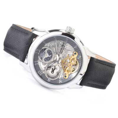 612-188 - Stührling Original Men's Tempest Dual Time Automatic Watch