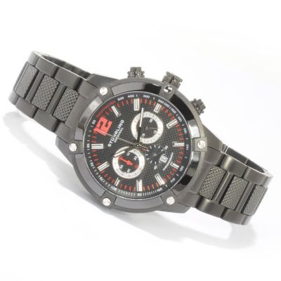 612-202 - Stührling Original Men's Victory Rider Quartz Chronograph Bracelet Watch