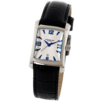 613-340 - Stührling Original Women's Lady Gatsby Quartz Leather Strap Watch