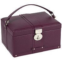 Wolf Designs Saint Tropez Medium Jewelry Case