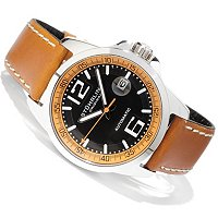 Stuhrling Original Men's Concorso Automatic Strap Watch