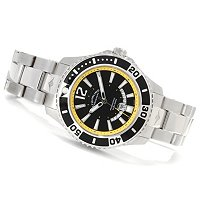 Stuhrling Original Men's Regatta Diver Bracelet Watch