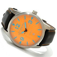Stuhrling Original Men's Tuskegee Thunderbolt Luminous Dial Watch