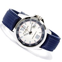 STSTL/RUBBER STUHRLING ORIGINAL MONTEREY SPORTS WATCH