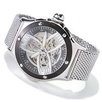 STSTL WTCH STUHRLING ORIGINAL MEN'S ALPINE SLALOM SKELETON AUTOMATIC