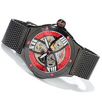 STSTL WTCH STUHRLING ORIGINAL MEN'S ALPINE SLALOM SKELETONIZED MESH BRACELET