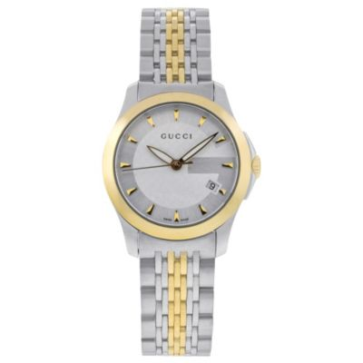 616-356 - Gucci Women's Timeless Swiss Made Quartz Stainless Steel Bracelet Watch