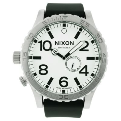 616-371 - Nixon Men's Swiss Made Quartz Polyurethane Strap Watch