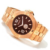 RENATO MEN'S OR WOMEN'S WILDEBEAST DIAMOND ACCENTED WATCH