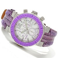 INVICTA RESERVE WOMEN'S OCEAN REEF SWISS QUARTZ CHRONO STRAP WATCH